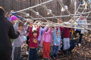 Photo of Kids at Day Camp with Cargo Nets